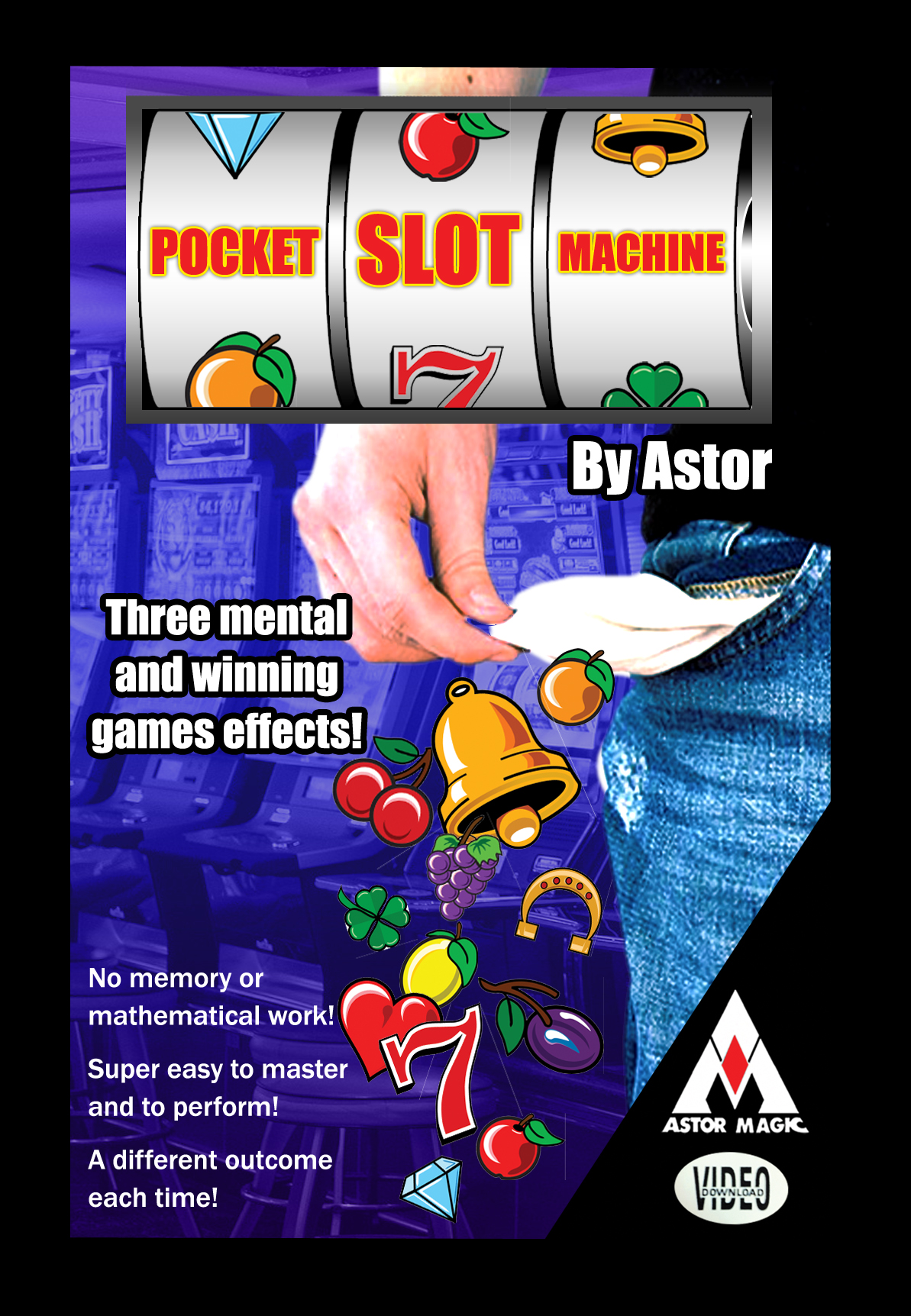 POCKET SLOT MACHINE - Astor Magic